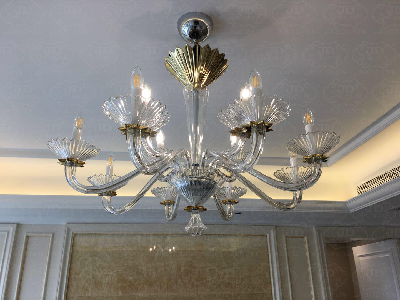 经典宝仕奥莎案例—品牌控的福音居室全套灯饰实拍