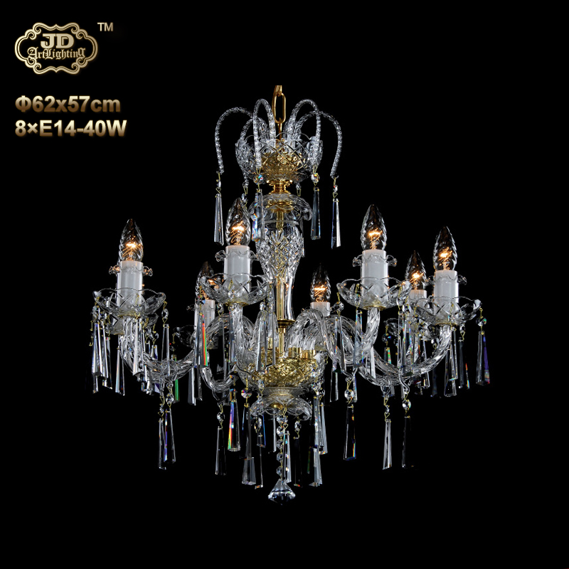 欧式吊灯 捷克工厂直供原装进口8头手工水晶灯碟吊灯 ¥10699元起/盏 会员优惠