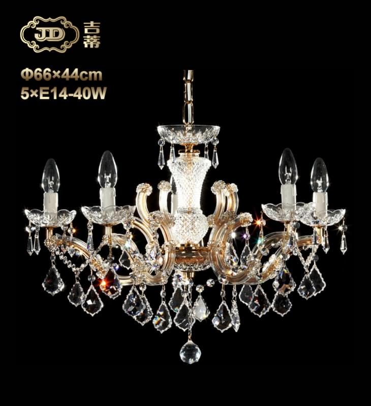 水晶吊灯 奥地利工厂直供原装进口5头手工水晶吊灯 ¥13650元起/盏 会员优惠