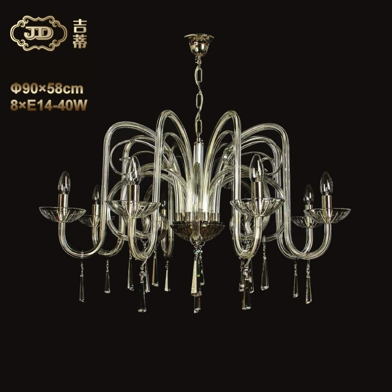 水晶吊灯 捷克原装进口简约现代8头水晶吊灯 ¥13299元 会员优惠