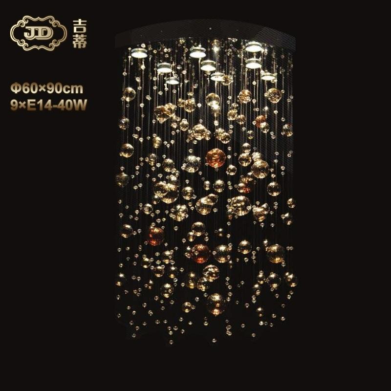 捷克原装进口奢华简约现代别墅客厅餐厅卧室时尚珠帘水晶吊灯
