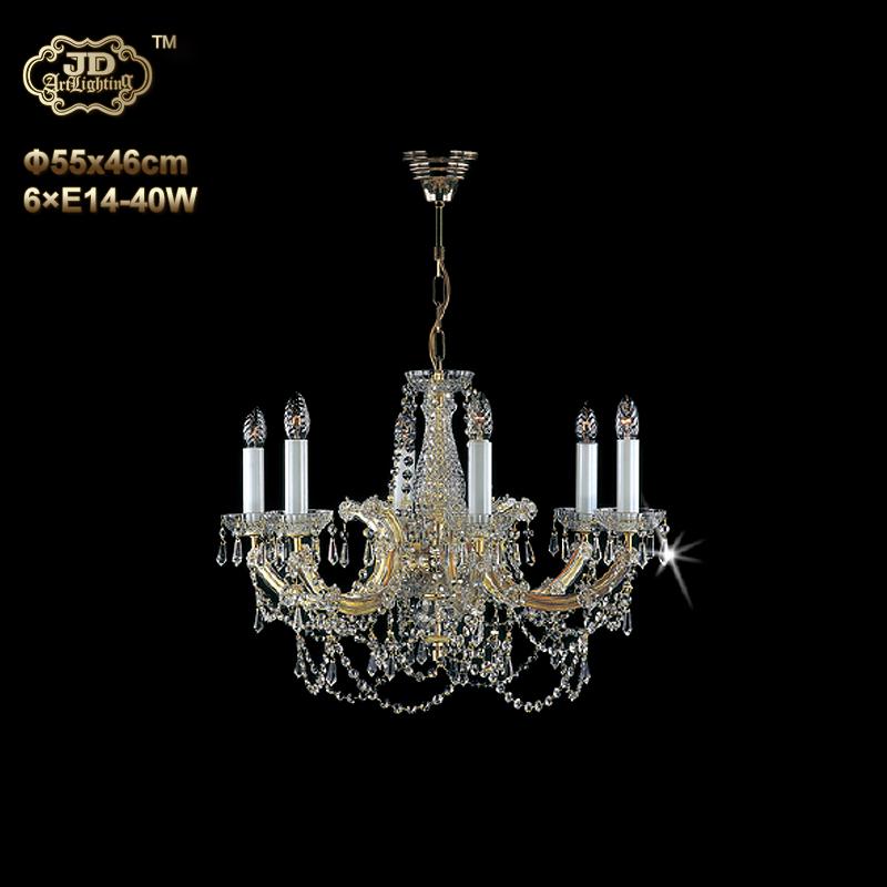 水晶吊灯 捷克工厂直销原装进口6头水晶吊灯 ¥9499元 会员优惠