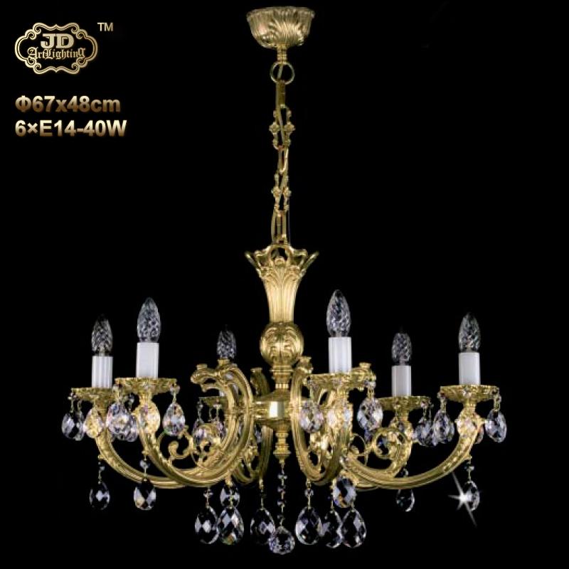 水晶吊灯 捷克工厂直供原装进口6头手工水晶吊灯 ¥13799元起/盏 会员优惠