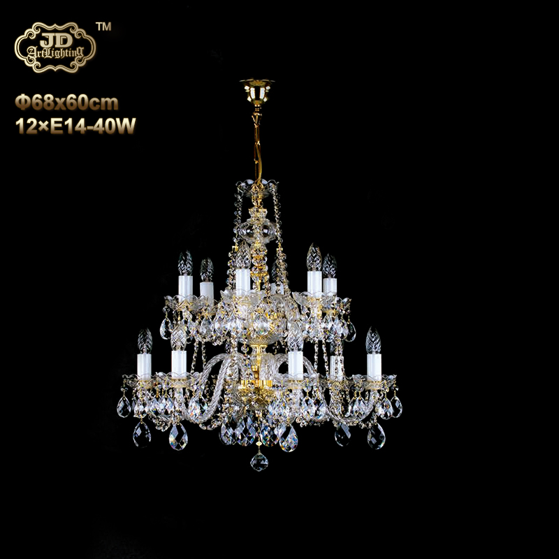 水晶吊灯 捷克工厂直供原装进口12头手工水晶吊灯 ¥11299元起/盏 会员优惠