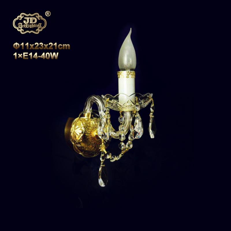 水晶壁灯 捷克工厂直供原装进口1头手工水晶壁灯 ¥1399元起/盏 会员优惠