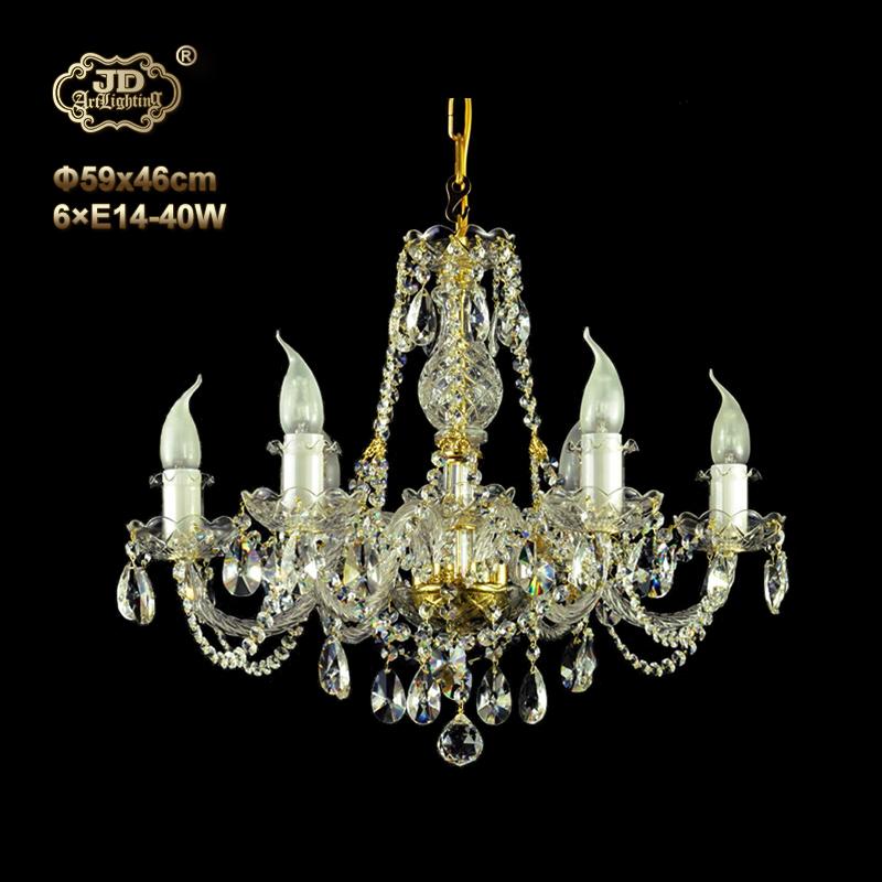 水晶吊灯 捷克工厂直供原装进口6头手工水晶吊灯 ¥6299元起/盏 会员优惠