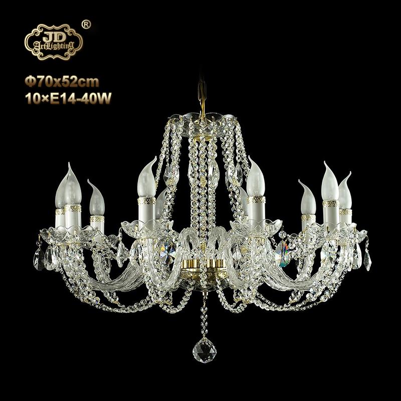 水晶吊灯 捷克工厂直销原装进口10头水晶吊灯 ¥11399元 会员优惠
