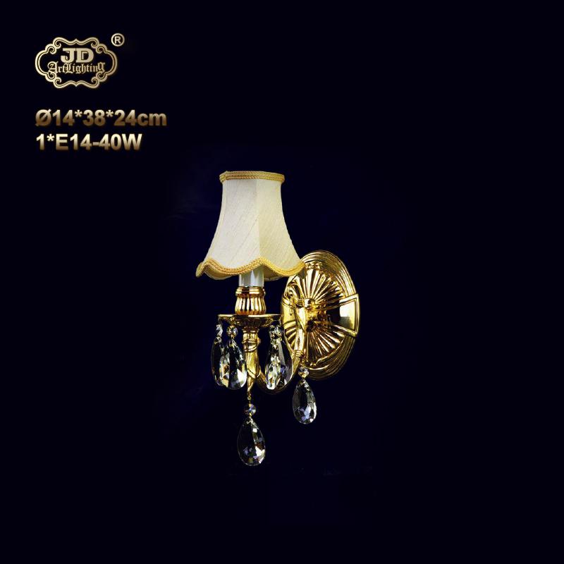 壁灯 捷克工厂直供原装进口1头全铜水晶壁灯 ¥3799元 会员优惠