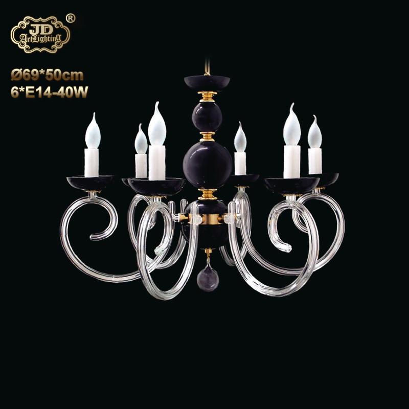 水晶吊灯 捷克原装进口6头黑色创意水晶吊灯 ¥9299元 会员优惠