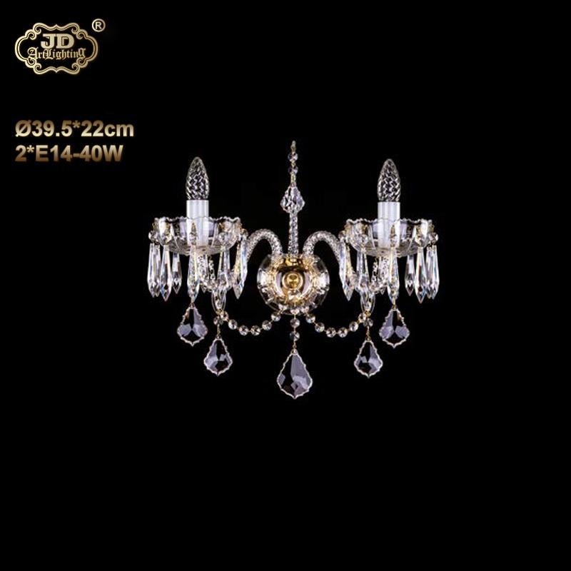 欧式壁灯 捷克工厂直供原装进口双头手工水晶灯碟壁灯 ¥3499元起/盏 会员优惠