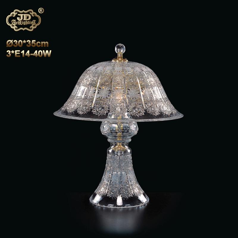 简约装饰台灯 捷克工厂直供原装进口3头艺术雕刻水晶装饰台灯 ¥8499元起/盏 会员优惠