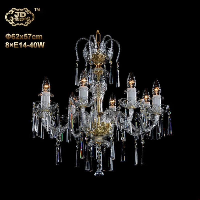 欧式吊灯 捷克工厂直供原装进口简约8头水晶吊灯 ¥10699元起/盏 会员优惠