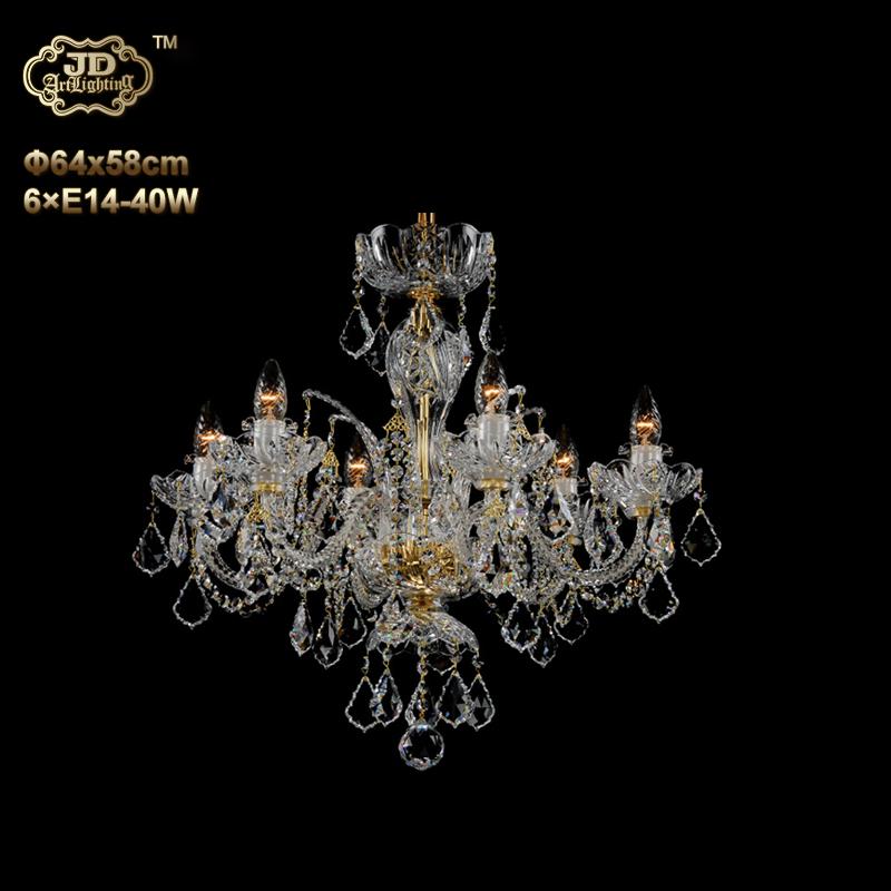 欧式吊灯 捷克工厂直供原装进口6头手工水晶灯碟吊灯 ¥16799元起/盏 会员优惠