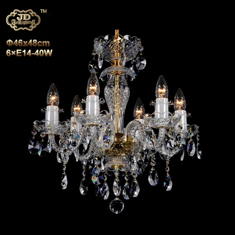 欧式吊灯 捷克工厂原装进口欧式6头水晶吊灯 ¥6999元 会员优惠