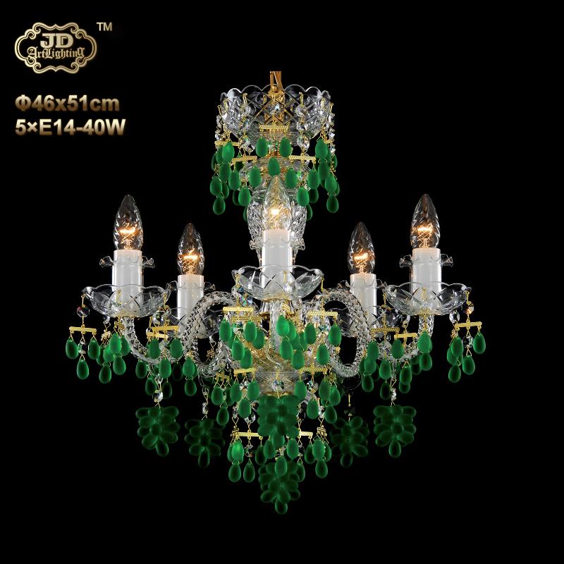 欧式吊灯 捷克工厂直供原装进口5头手工水晶灯碟吊灯 ¥6299元起/盏 会员优惠