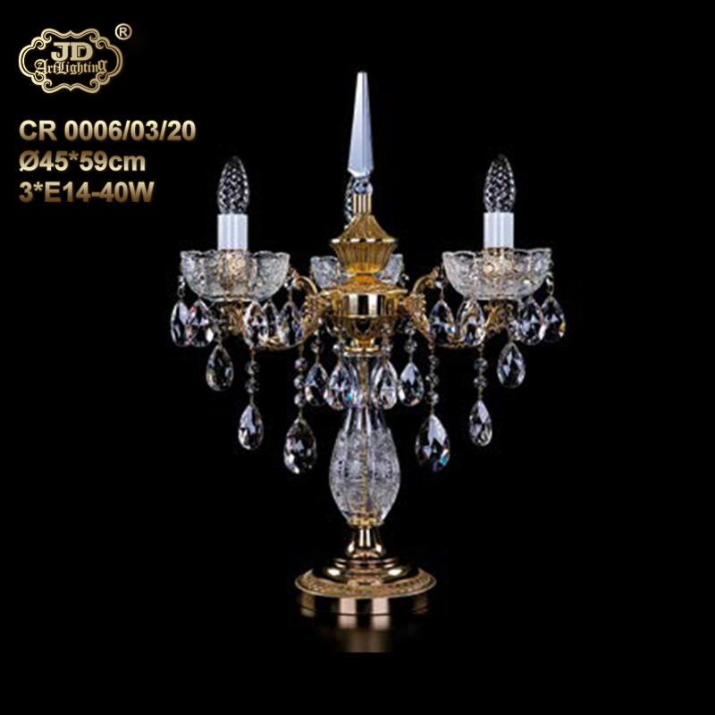 欧式台灯 捷克工厂直供原装进口3头手工水晶装饰台灯 ¥11399元起/盏 会员优惠