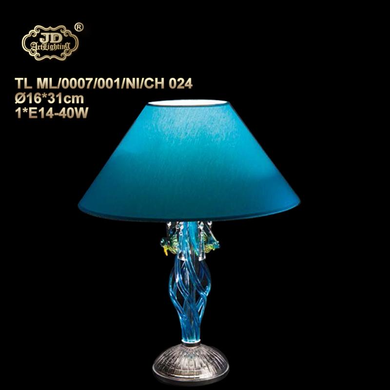 蓝色后现代法式别墅卧室书房客厅装饰水晶台灯¥4599元 会员优惠