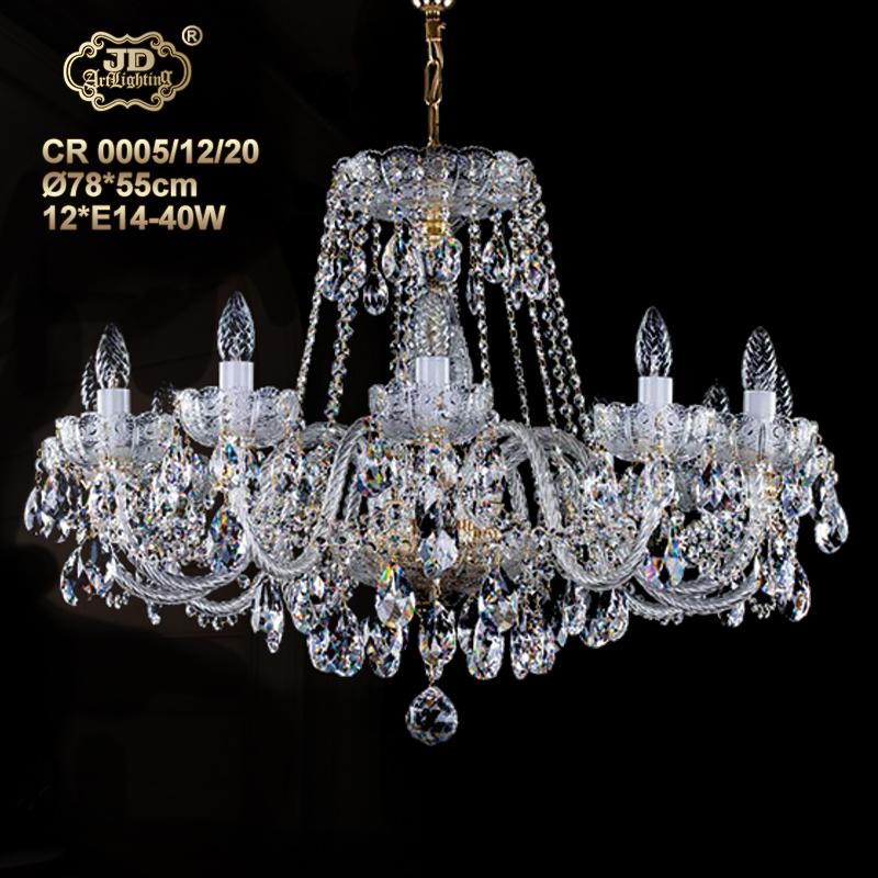 水晶吊灯捷克厂家直销原装进口12头高铅水晶吊灯 ¥23699元 会员优惠