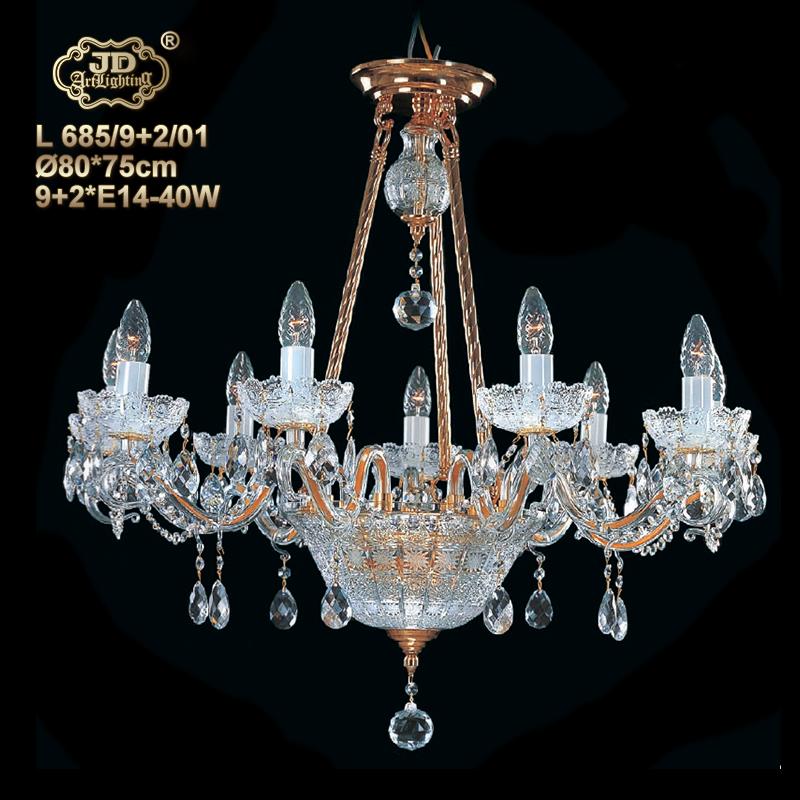 捷克现代水晶吊灯客厅餐厅卧室书房水晶灯¥21299元 会员优惠