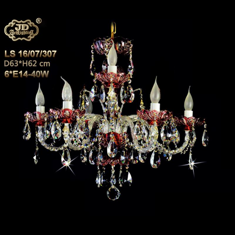 原装进口尊贵精致红色水晶灯碟新房水晶吊灯¥22299元 会员优惠